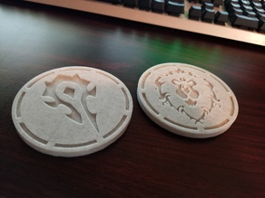 World of Warcraft Coasters