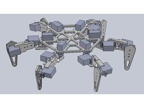 Bleuet Hexapod