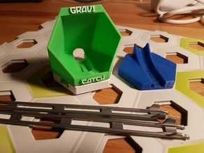 Gravitrax compatible Catcher