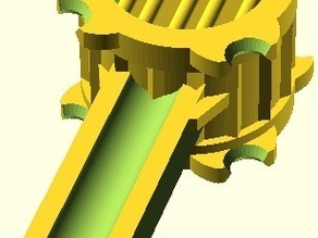 Centi PET Re-Extruder: Heating-Chamber