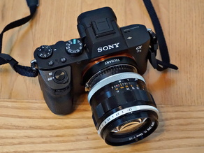 Canon FL/FD/FDn Lens To Leica M Body (Techart Pro LM-EA7) Adapter