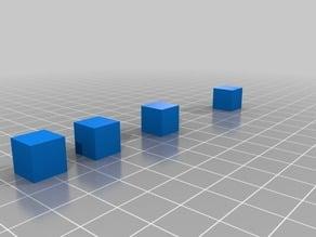 Oozing cube test