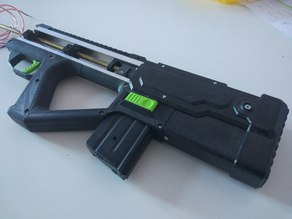 Airsoft electric toy gun mk3 - back body