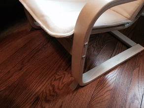 Ikea Poang Children's Chair - Extended Foot