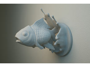 Jumping Fish wall hanger