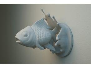 Jumping Fish wall hanger