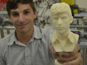 Andrew Sink 3D Scanned and Modeled Bust