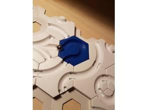 Gravitrax compatible horizontal loop