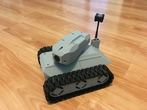 FPV Prototank with Turret