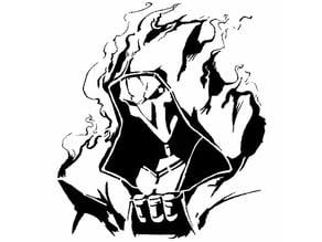 Reaper stencil