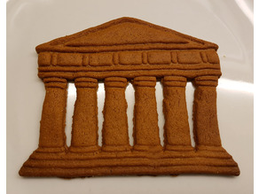 Parthenon Cookie Cutter