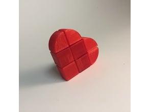 1x2x2 Heart Cube