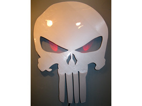 Punisher Skull Wall Hanging Decoration
