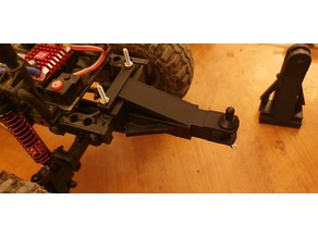 RC trailer hitch for MST CFX-W