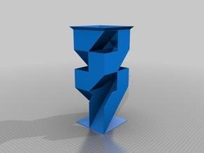 My Customized Angular Dice Tower 2