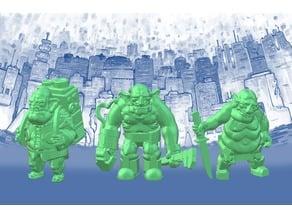 Space Goblin Junker Crew (28mm/32mm scale)