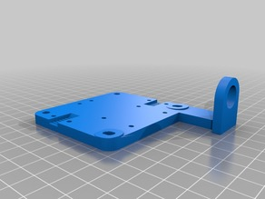D-Bot Print Carriage Front w/Proximity Mount
