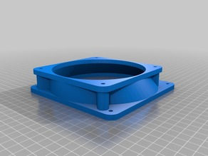 140mm to 120mm PC Case Fan Adapter (OFFSET)