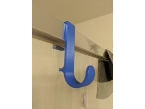 Shower Frame Towel Hook