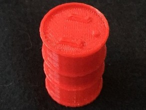 Warhammer Scale Barrel