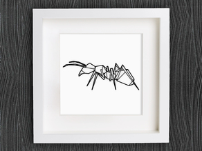 Customizable Origami Ant