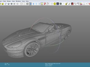 3D Car Model Aston Martin