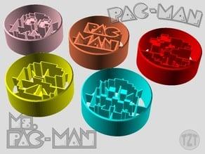 Pac-Man Cookie Cutter Set