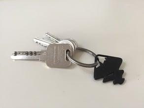 Inkscape keychain