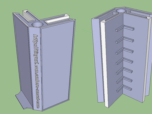 Mold Box Corners for silicone mold making by Jollybgood - Thingiverse