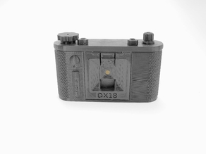 "terraPin 6X6 ""DX18"" - 18mm Pinhole Camera Extension"