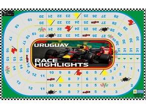 Clásico Carrera de Auto (juego mesa)