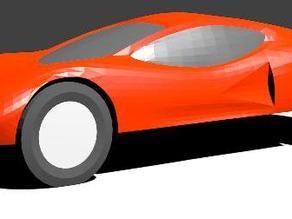 Pinewood Derby Car Shell