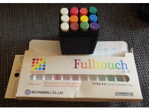 Customizable chalk box with inset