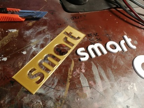 Smart fortwo logo text