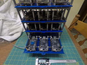 BeagleBone Black Cluster Rack