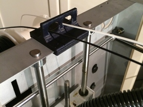 Solidoodle Workbench Apprentice filament guide