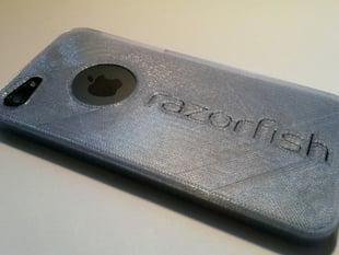 Razorfish 3D Printed Phone Cases, Samsung S4, iPhone4, iPhone5