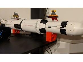 Lego Saturn V Stands w/ Overhang