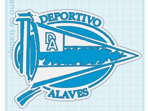 Escudo del deportivo Alaves