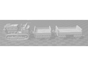 Necromunda Hauler and Wagons - WH40k