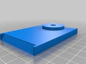 MP Mini Delta top spool holder base with 8mm rod Monoprice