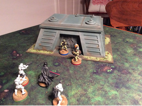 Star Wars Legion Imperial Style Endor Bunker