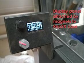 Elegant overkill: a printer filament monitor