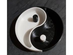 Ying&Yang bowl B&W