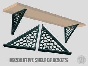 Decorative Shelf Bracket (Left and Right set)