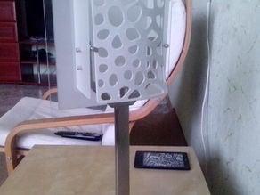 voronoi panel lamp