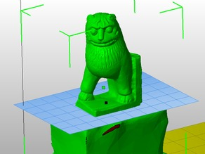 123D Catch files and Netfabb step by step