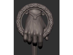 Hand of the king Pin from Game of Thrones