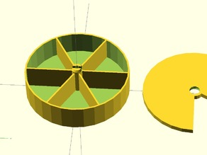 Customizable Parametric Round Box