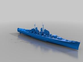 Warship - CA-68 Baltimore (1/10)